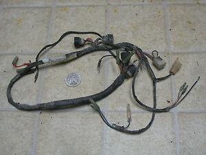image is loading 1984-yamaha-ytm225dx-tri-moto-main-wiring-wire-
