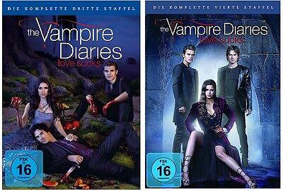 The Vampire Diaries - Season/Staffel 3+4 * DVD Set * NEU OVP