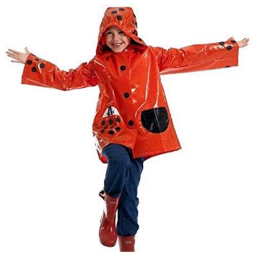 Frog Ladybird Raincoat Children Funny Cartoon Baby Kids Rainwear Cute Waterproof