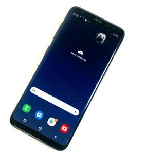 Samsung-Galaxy-s8-sm-g950f-64gb-Schwarz-Entsperrt-SIM-Frei-zertruemmerte-Bildschirm-555
