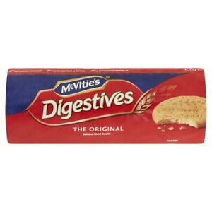 McVitie's Digestives The Original Healthy Delicious Wheat Biscuits 400g