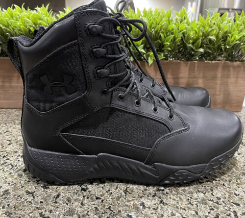 Under Armour UA 1303129 Men/'s Stellar Tactical Side Zip Boots Trail Hiking Shoes