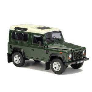 Welly-1-24-Land-Rover-Defender-Diecast-Model-SUV-Car-Green-NEW-IN-BOX