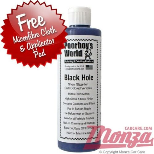 Poorboys Black Hole Show Car Glaze Wax Polish Sealant Complete - Show car products