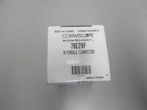 Commscope 78EZNF N Female Connector