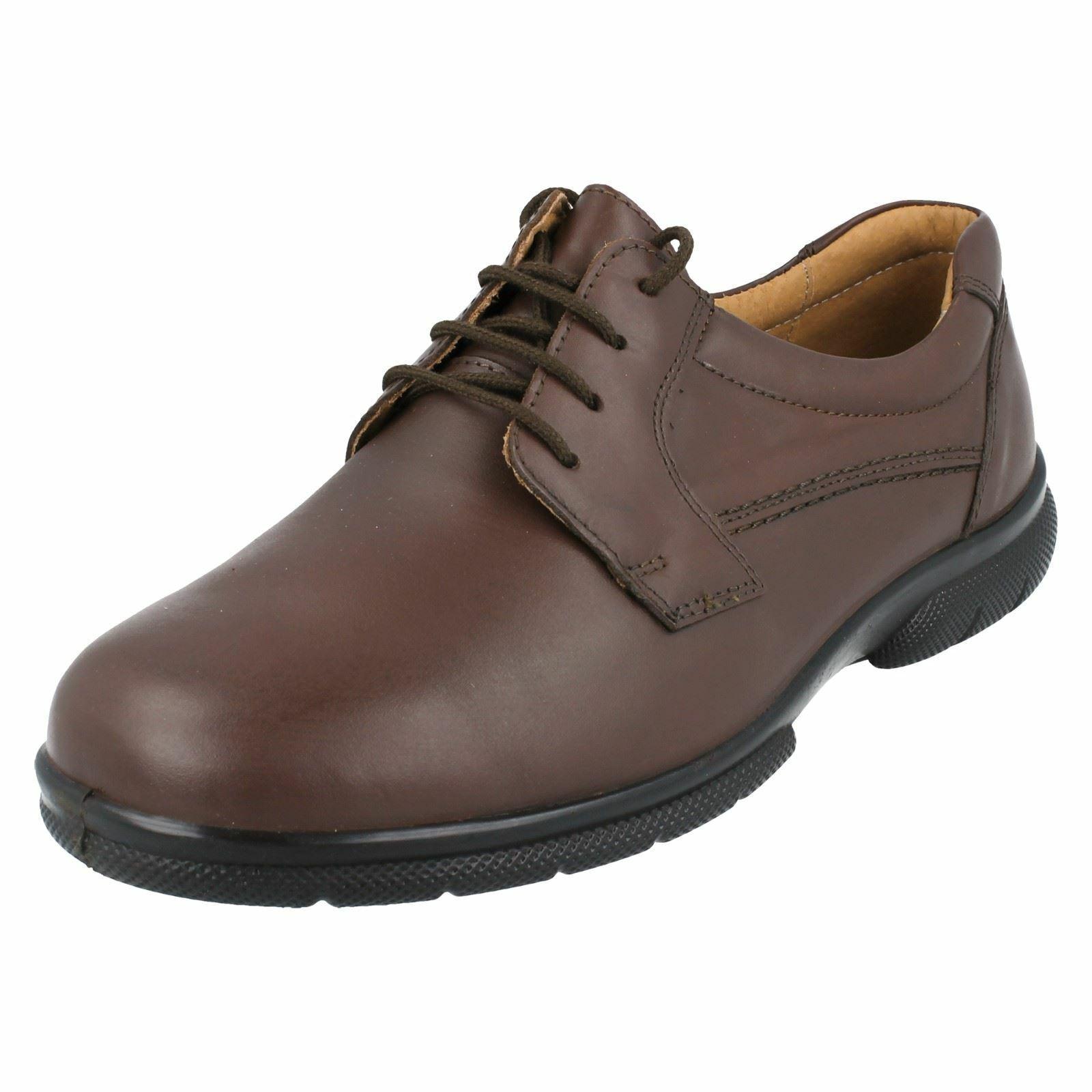 Mens Easy B Leather schuhe Hailsham