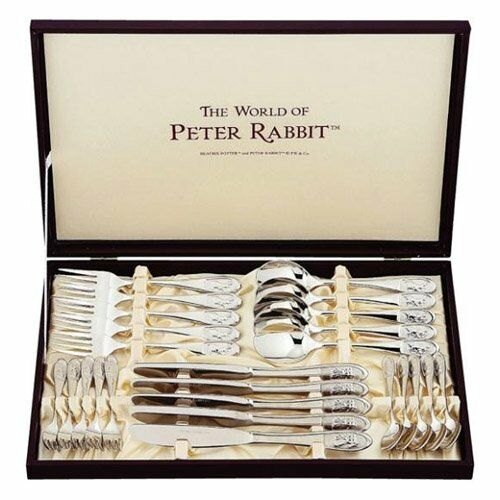 Kc03 Asahi Peter Rabbit dinner set Spoon and fork and knife set of 25 PO-3