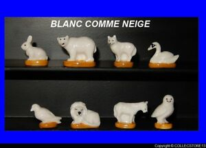 SERIE COMPLETE DE FEVES BLANC COMME NEIGE