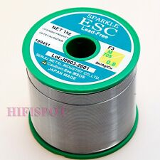 10m  0.75mm lead free solder wire  3/% silver TELECORE XL-825 SAC305 ALPHA UK