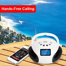 KOCASO Bluetooth Speaker LCD FM Radio Alarm Clock Hands-Free Call For iPhone