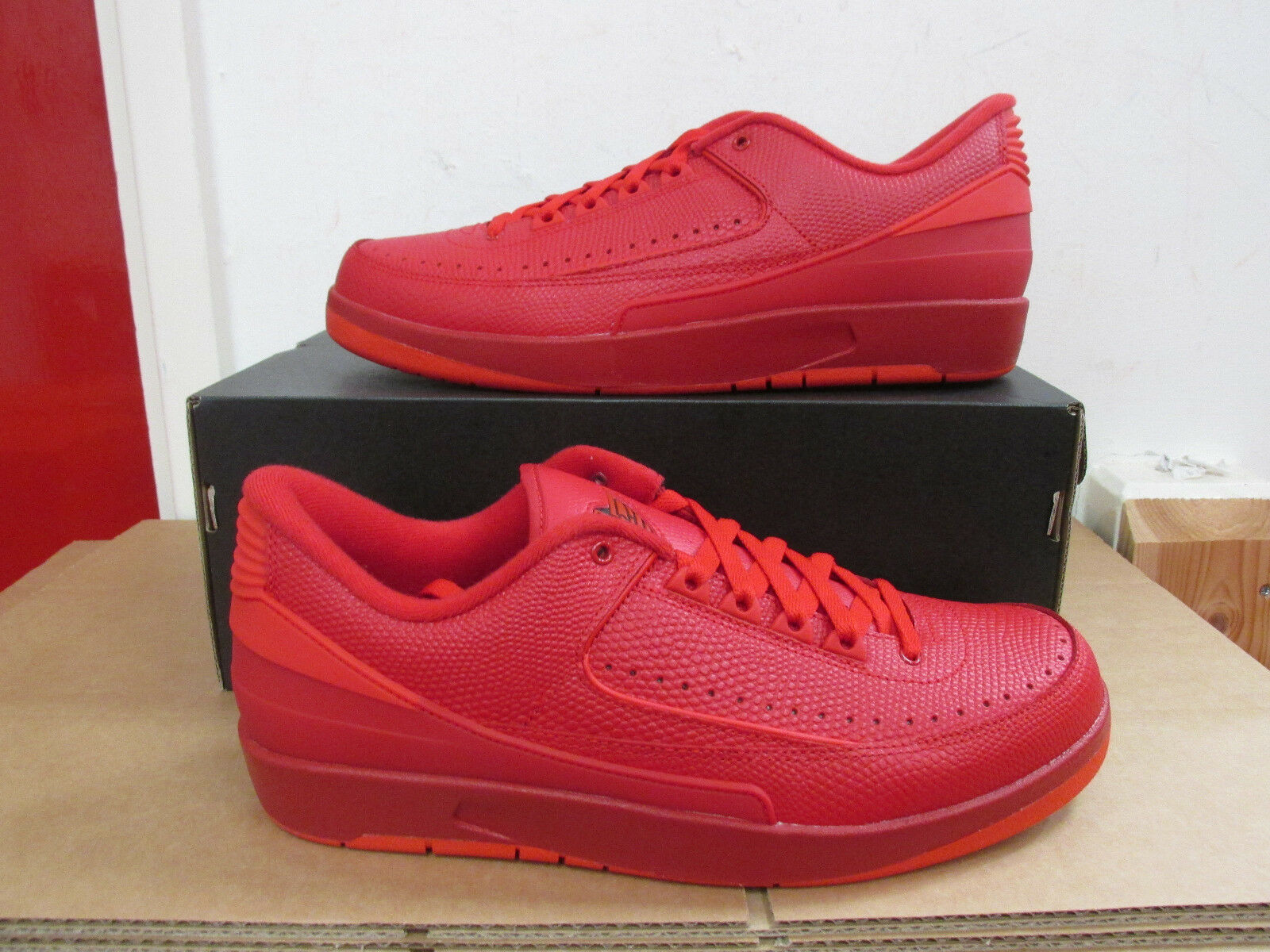 940210ec4e7259 Nike Air Jordan 2 Retro Low Sz 10 Gym Red University Turquoise ...