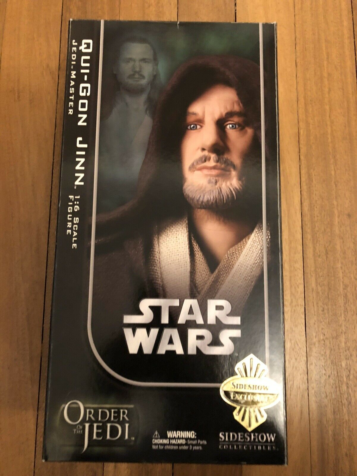 Sideshow Star Wars Order Of The Jedi Qui Gon Jinn Jedi Master Exclusive SSC1137