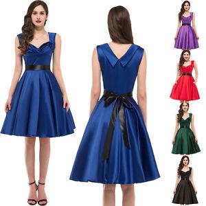 Pas cher swing ann es 50 vintage bal pin up robes soir e for Femme au foyer annees 50