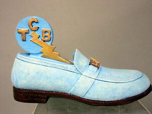 Brand-New-Elvis-Presley-TCB-Blue-Shoe-Box-E-P-E-Offical-Product-by-Vandor