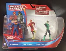 Justice League Set-SUPERMAN *THE FLASH * GREEN LANTERN 4 In Action Figures