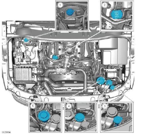 LAND Rover Discovery 4 2009-2012 Manuale di servizio officina download LR4