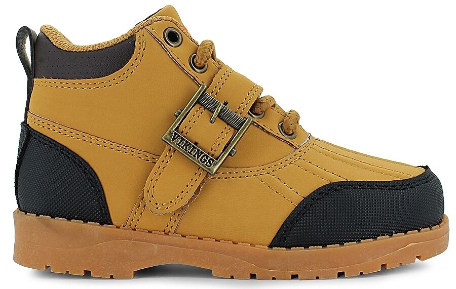 New Men's Vikings Amarillo Wheat/Black Ankle Boots Size 8.5 Brand New!