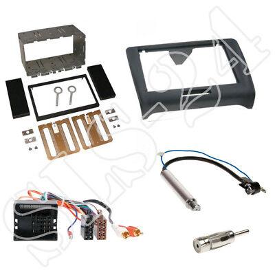 Antenne SET ISO Adapter mit BOSE Audi TT Typ 8J ab2006 1-DIN Autoradio Blende