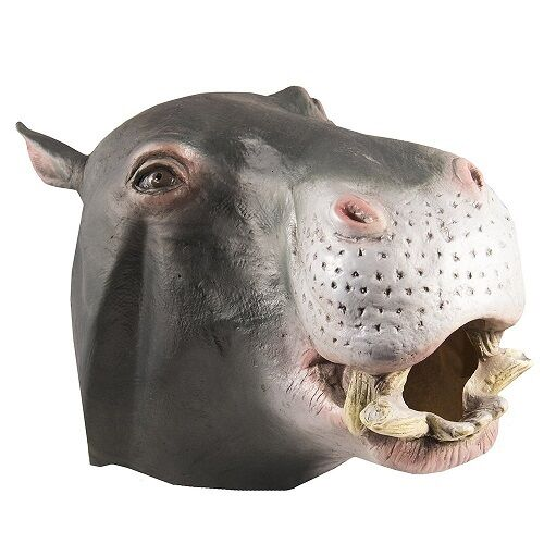 Latex Full Head Overhead Animal Cospaly Masquerade Fancy Halloween Carnival Mask