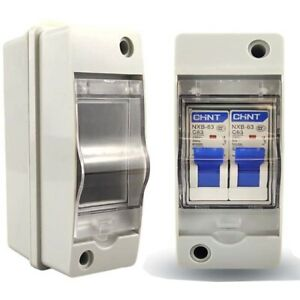 2-3 ways Plastic distribution box for circuit breaker indoor on the wall  Fq