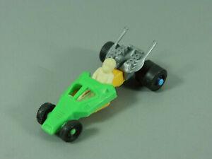 Coches-Dragster-con-Piloto-Suelto-Eu-70er-Anos-Verde-Amarillo-Azul
