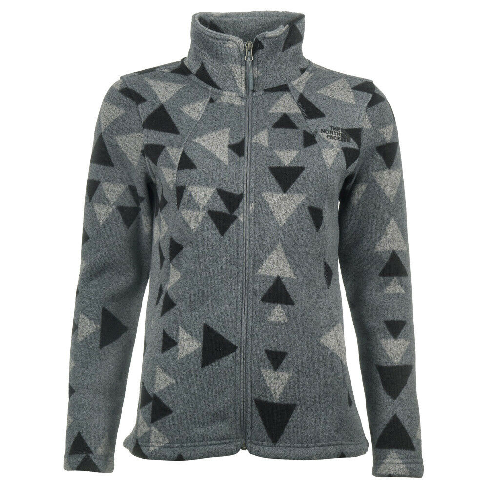 The North Face Crescent Full Full Full Zip Jacket damen Damen Fleecejacke ab4a34