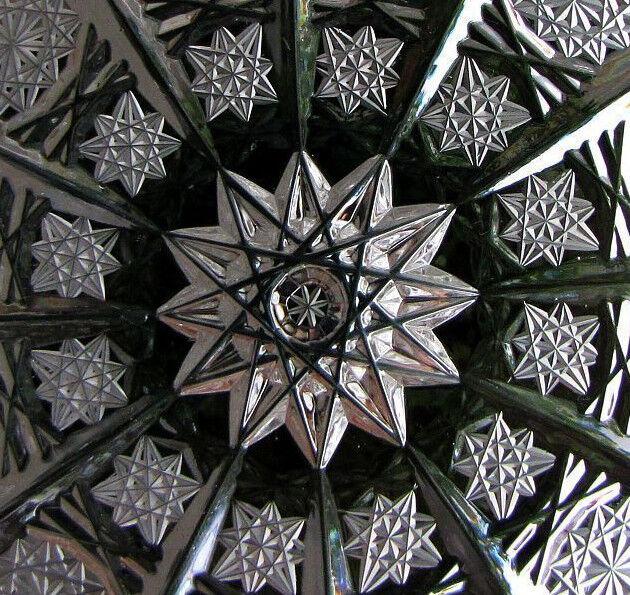 6 x Bleikristall Teller Schalen Bleikristalteller Kristallteller handgeschliffen