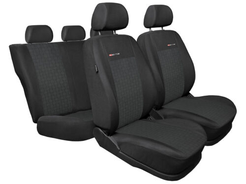 Tailored seat covers for Peugeot   208   full set grey1