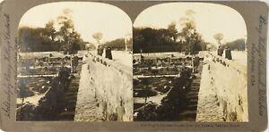 Italia-Roma-Vaticano-Le-Jardins-Del-Pape-Foto-Stereo-Vintage-Analogica-PL62L2