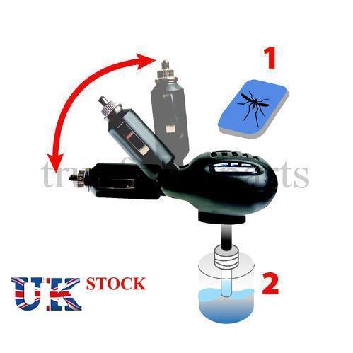 1x Anti-Mosquito Repelente de Insectos repelente dispositivo eléctrico cigarrillo Plug 12V