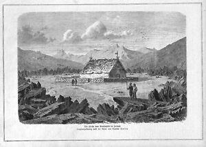 Islande * Reykjahlid * Vue D'une église * 1880 *-lid*ansicht Einer Kirche*1880* Fr-fr Afficher Le Titre D'origine Doux Et Doux