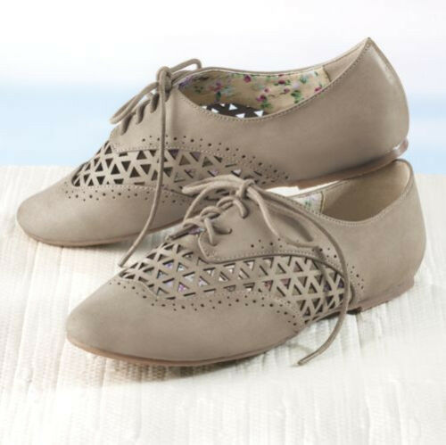 NEW WOMENS SIZE 11 M 11M TAUPE LATTICE SHOES by MONROE /& MAIN