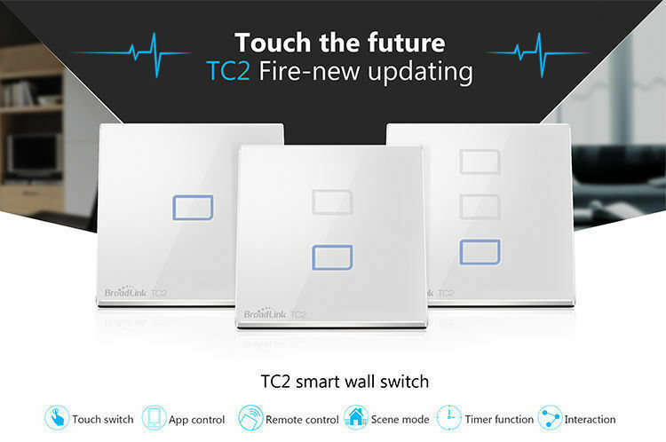 2G Touch switch for BroadLink RM2 Pro SmartPhone WiFi Universal Remote Contro