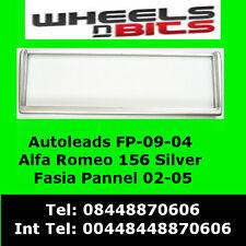 FP-09-04 Alfa Romeo 156 02-05 Argento PANNELLO ADATTATORE CRUSCOTTO