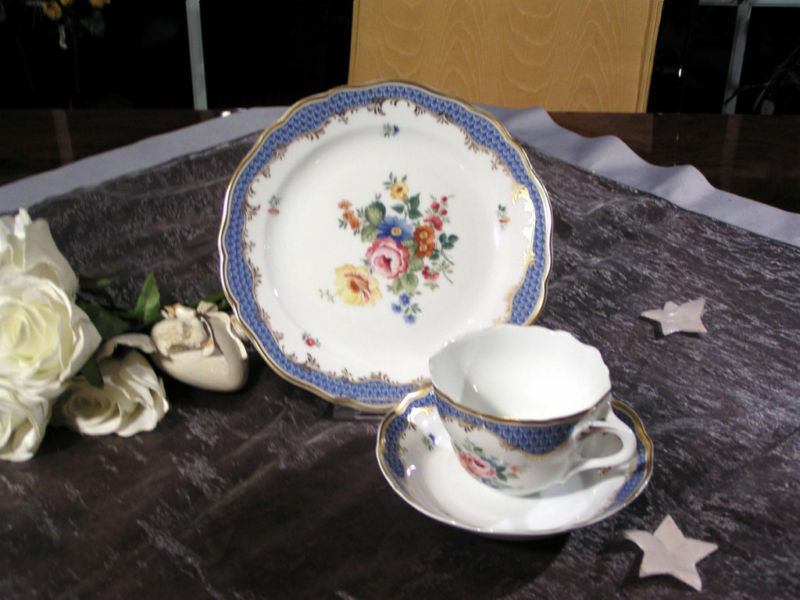 Noble café couvert de HUTSCHENREUTHER Coburg