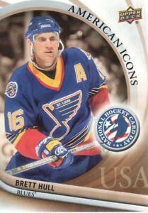 2011-12 Upper Deck National Hockey Card Day USA #14 Brett Hull St. Louis Blues