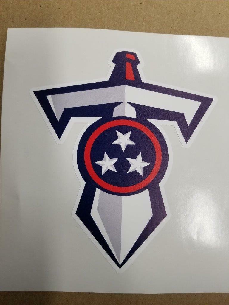 Tennessee Titans cornhole board or vehicle decal(s)TT1   exciting promotions