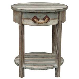 Weathered Wood And Metal Furniture