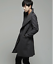 thumbnail 9 - Wool Blend Stand Collar Coat Slim Fit Jacket Men's Mid Length Parkas Asymmetric