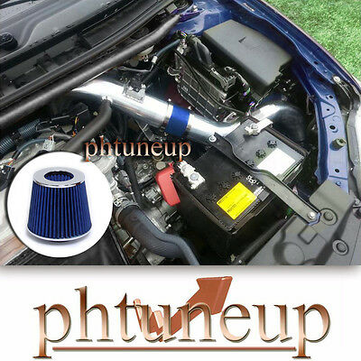 Replacement Parts BLUE Cold Air Intake Kit Systems FILTER Fit 2011 ...