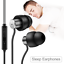 AGPTEK-Sleep-Earbuds-Earphone-Noise-Isolating-Headphones-with-Mic-amp-Volume-Control thumbnail 1