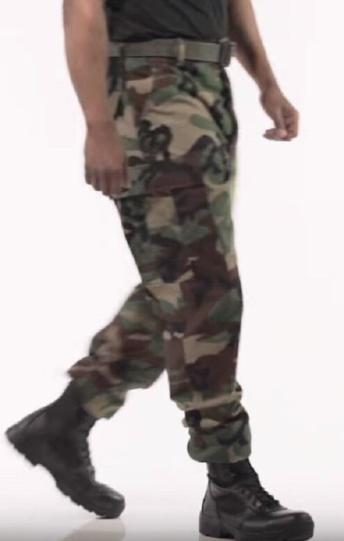 PROPPER Us Nyco Army Wcp Woodland Mimetico Bdu Nyco Us Twill Mr Pantaloni Medio Regolare 2cecab