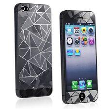 3D Diamond Design Anti Glare Screen Protector Film for Apple iPhone SE 5 5S