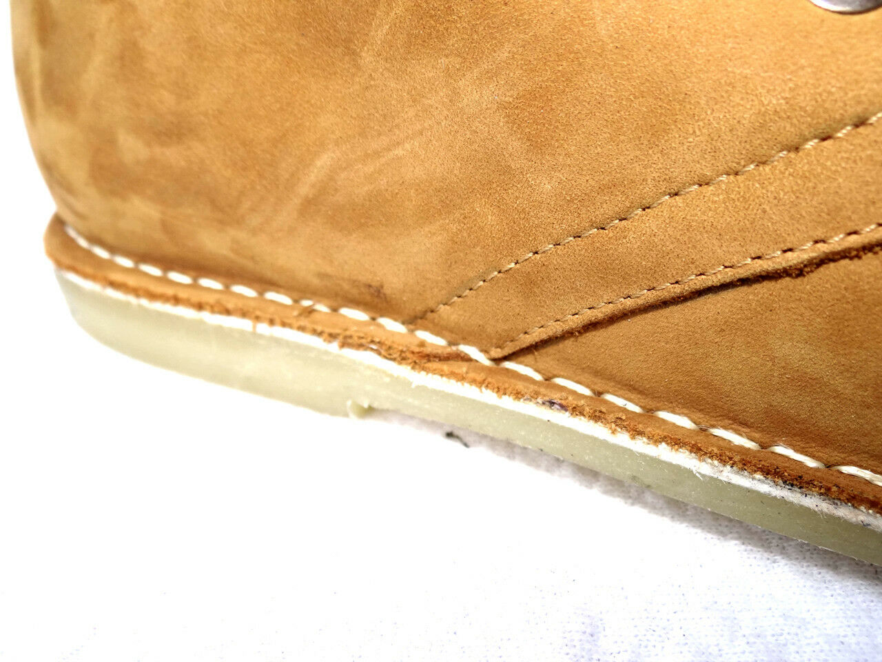 OGS Wide Shoes Sophia Camel Soft Suede Boots 3E wide
