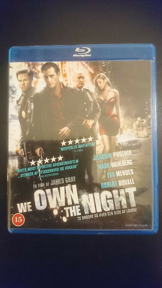 We Own The Night, instruktør James Gray, Blu-ray