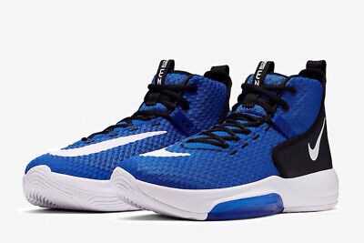 Nike Zoom Rize TB Homme Basketball Chaussures Bleu Maille Baskets 2019 | eBay