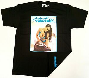 STREETWISE-STEAM-T-shirt-Urban-Streetwear-Tee-Mens-L-4XL-Black-NWT