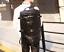 Men-Large-Travel-Duffle-Gym-Luggage-Bag-Leather-Backpack-Shoulder-School-Handbag thumbnail 2