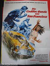 Die Cadillac Bande von San Francisco -KINOPLAKAT A1- Born Wild Highway Fighters