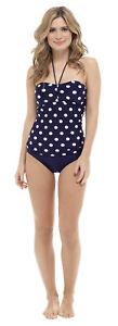 Womens Support Control Tankini Set Vest Top + Bottoms Ladies Swimwear Size